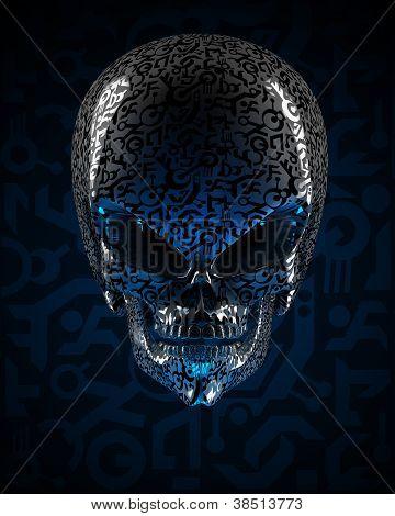Crânio alienígena