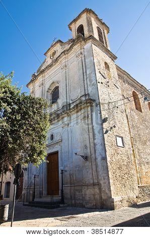 Church of St. Francesco. Troia. Puglia. Italy.