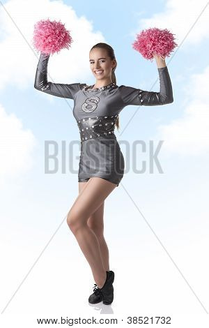 Sexy Cheerleader Laughs