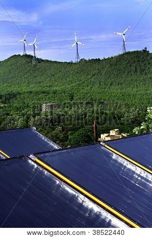 Turbinas generadoras de electricidad
