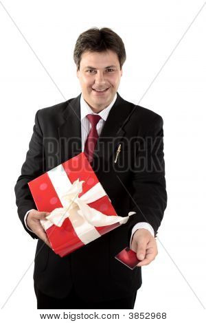 Man Buying Present