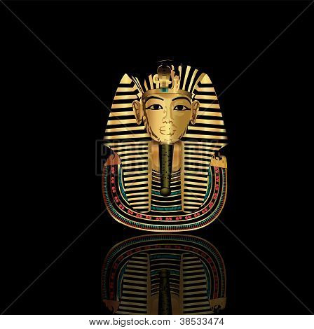 Golden Mask Tut Ankh Amoun