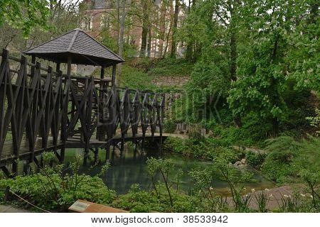 Garden of Clos Luce