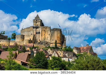 castle of castelnaud la chapelle dordogne perigord France
