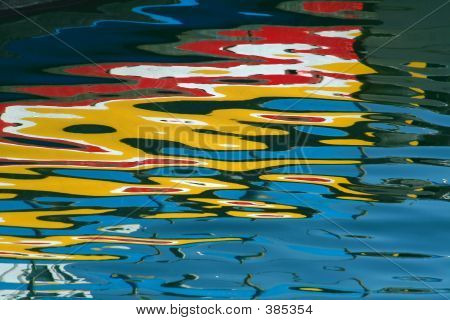 Painting In The Water