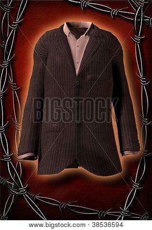 Glorious suit imprisoned