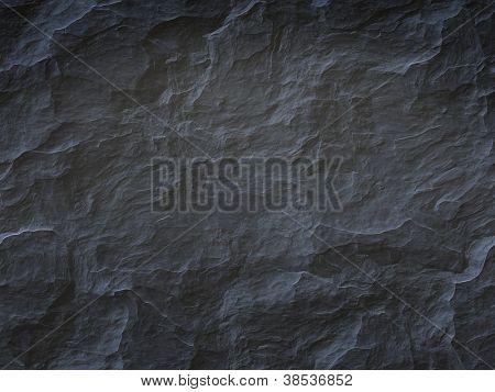 Una imagen de un fondo de piedra negro fresco