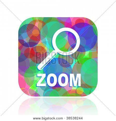 icono de zoom