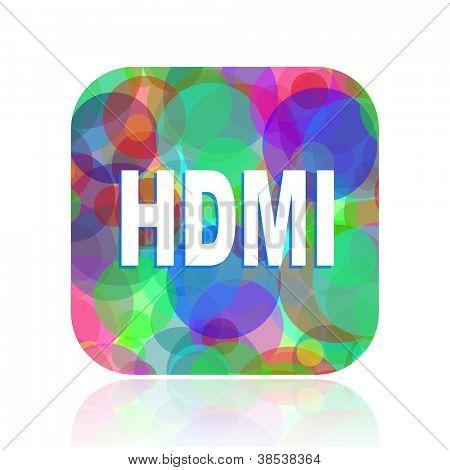 ícone de HDMI