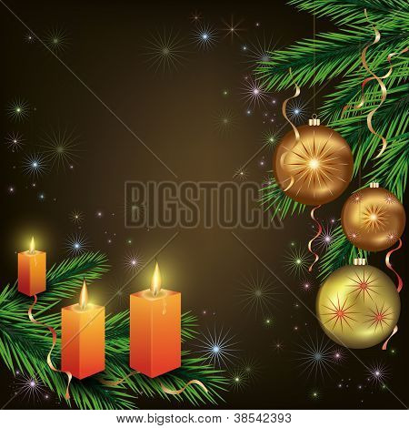Bright Celebratory Christmas Card