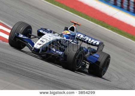 At&T Williams Fw29 Nico Rosberg German Germany F1 Sepang Malaysia 2007