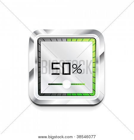 Vector modern preloader icon