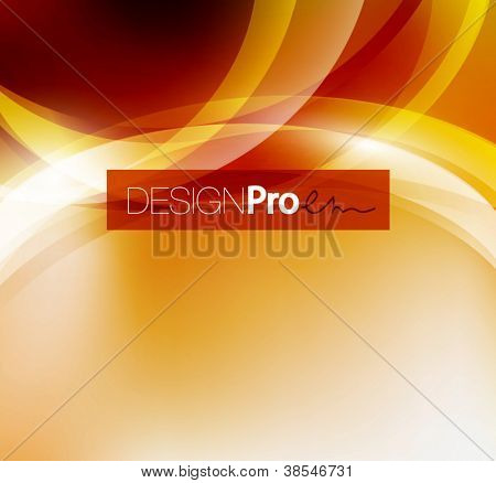 Shiny circles abstract background