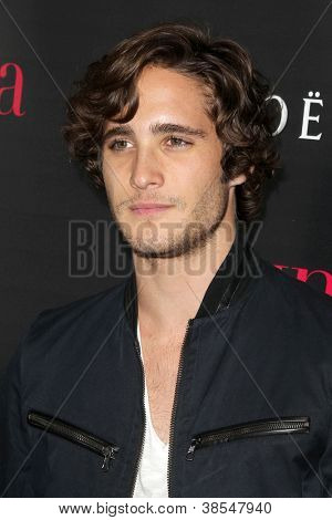 "LOS ANGELES - OCT 4:  Diego Boneta arrives at the ""Latinos In Hollywood"" Event at The London West Hollywood on October 4, 2012 in West Hollywood, CA"