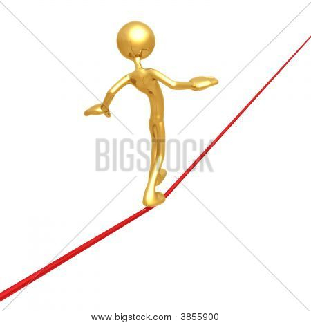Walking Tight Rope