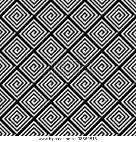 Nahtlose geometrische Textur. Vektorgrafiken.