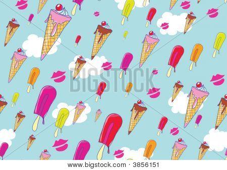 Cool Hand drawn helados