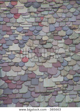 Colorful Slate Roof