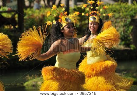 Straw Dancers