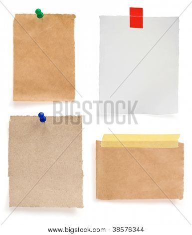 Briefpapier, isolated on white background