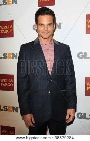 LOS ANGELES - OCT 5:  Greg Rikaart arrives at the 8th Annual GLSEN Respect Awards at Beverly Hills Hotel on October 5, 2012 in Beverly Hills, CA