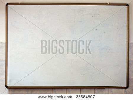 White Chalkboard Classroom School Education