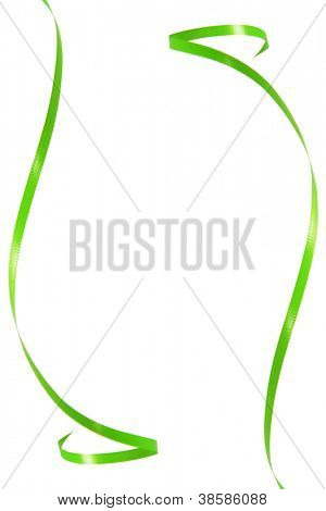 Green ribbon frame