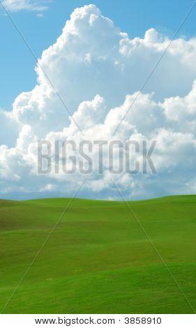 Colinas verde