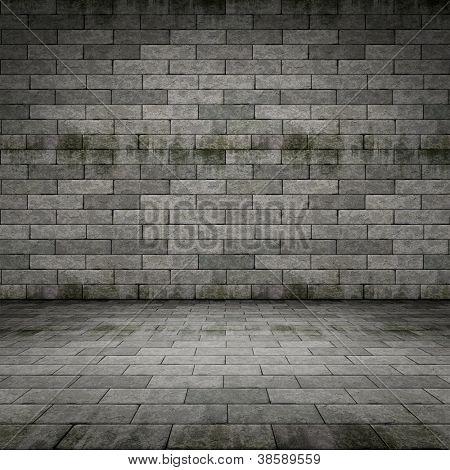 An image of a dark cellar background