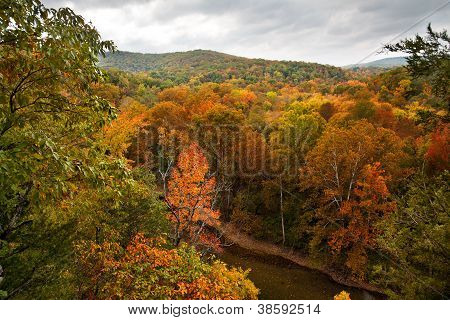 Buffalo River In The Autumn