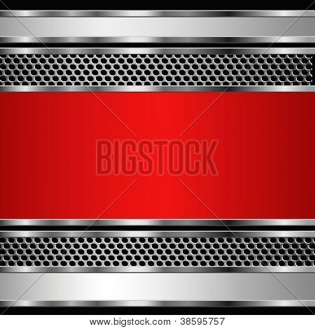 Abstract metallic business background. Vector eps10 illustration