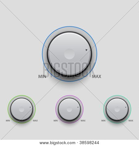 Volume Knobs set