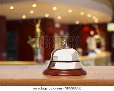 Sino de serviço do Hotel
