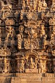 foto of great living chola temples  - Tower  - JPG