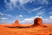foto of grand canyon  - Monument Valley Buttes With Cloud Cast Shade Dancing Along the Valley - JPG