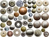 foto of bolts  - Screw heads - JPG