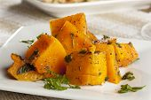 image of batata  - Homemade Baked Sweet Potato against a background - JPG