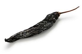 foto of pasilla chili  - chile pasilla - JPG