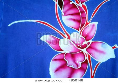 Batik - Flower Motif Stock Photo & Stock Images | Bigstock