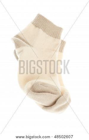 Sock Isolated On A White Background.
