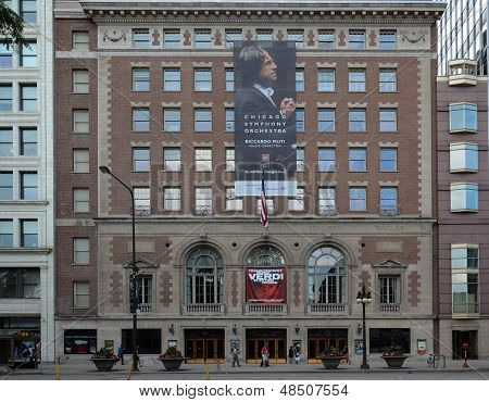 Chicago Orchestra Hall