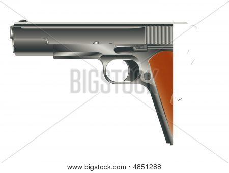 Vektor-Bild der Pistole