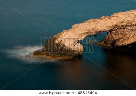 Cape Greco Sea Caves, Ayia Napa, Cyprus