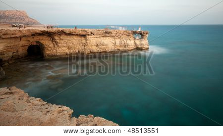 Cavo Greco Or Cape Greco Sea Caves, Cyprus