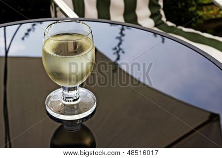 One Glass Of White Wine