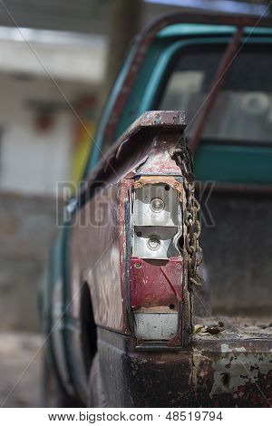 Cae rear light