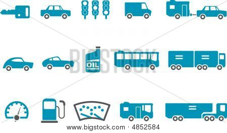 Transport Icon-set