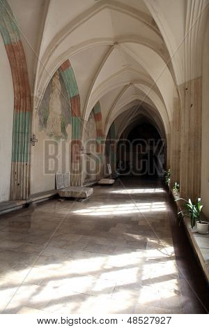 Cracow - galleries of the St Catherine's Church