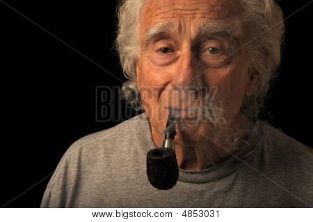 Man And His Pipe