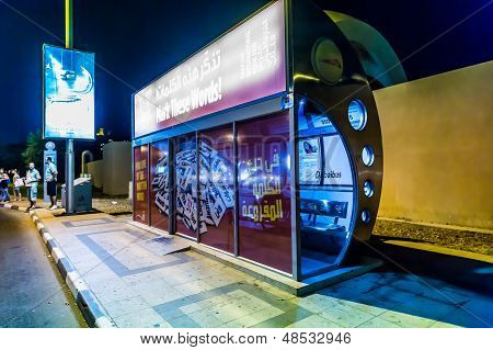 Dubai Air Conditioned Bus Stop